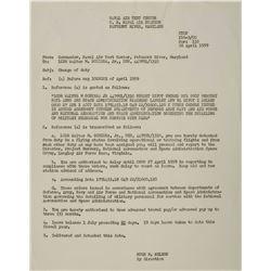 MA-8: Wally Schirra's 1959 NASA Orders