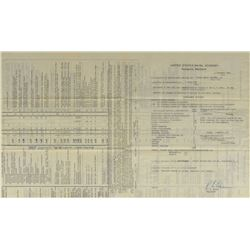 MA-8: Wally Schirra's Naval Academy Transcript Report Card