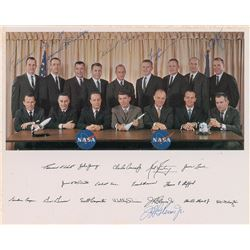 Astronaut Groups One and Two Signed Photograph