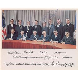 Astronauts Group Three Signed Photograph