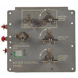 Apollo CM Block I Water Control Panel