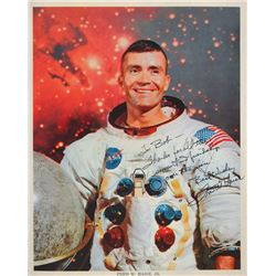 Collection of (12) Apollo Astronaut Signed Photographs