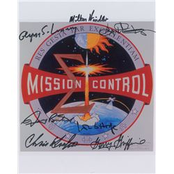 Mission Control Signed Photograph