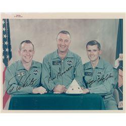 Apollo 1 Signed Photograph