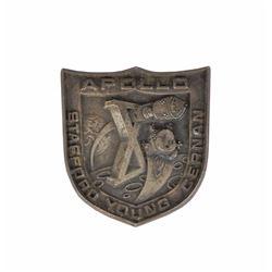 John Young's Apollo 10 Flown Robbins Medal