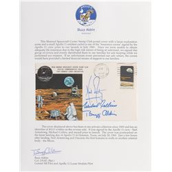 Buzz Aldrin's Apollo 11 'Type 1' Signed Insurance Cover