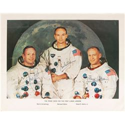 Apollo 11: Armstrong and Collins Oversized Signed Photograph