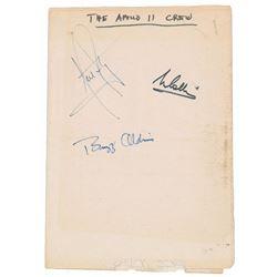 Apollo 11 Signatures
