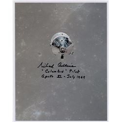 Michael Collins Signed Photograph