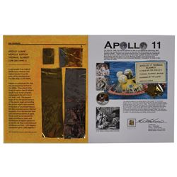 Collection of Apollo 11 and 17 Kapton Foil