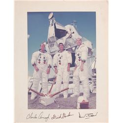 Dave Scott's Apollo 12 Oversized Signed Photograph
