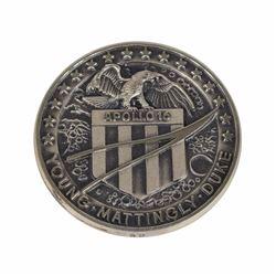 Alan Bean's Apollo 16 Flown Robbins Medal