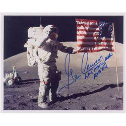 Gene Cernan Signed Photograph