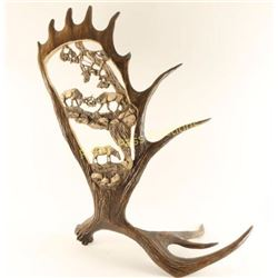 Gorgeous Faux Moose Antler Decorator