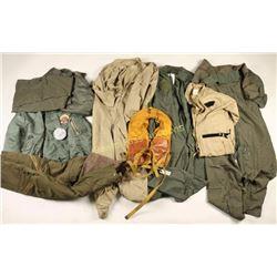 Large Lot of US Aviation/Flight Uniforms