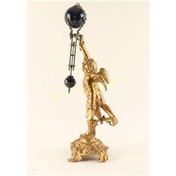 Victorian Cherub Figural Clock