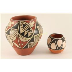 Lot of 2 Acoma Pots