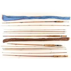 Vintage Bamboo Fishing Poles