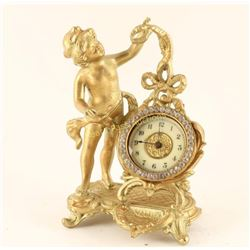 Fancy Victorian Desk Clock