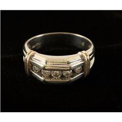 Men's Diamond & Gold Ring