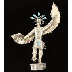 TOBY HENDERSON Sterling Silver & Turquoise