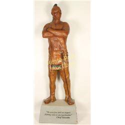 Life Size Chief Tawonka Statue