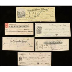 Collection of Vintage Checks