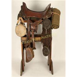 Original McClelland Cavalry Saddle