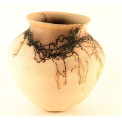 White Horsehair Pot