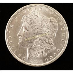 CC 1884 Morgan Silver Dollar