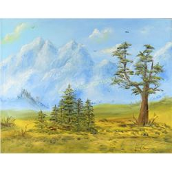 Original Oil on Canvas by Dale Strong