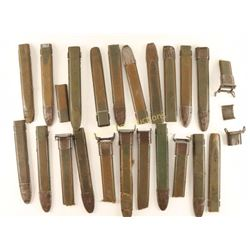Box of U.S. Military Green Bayonet Sheaths