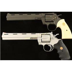 2 Replicas of a Colt Python