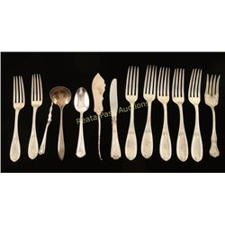 Lot of Silver & Silver Plate