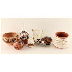 Native American Pottery Lot