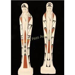 2 Acoma Figures
