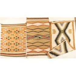 Lot of 3 Navajo Rugs