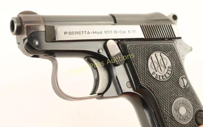 Beretta 950 B  25 ACP SN: B62774