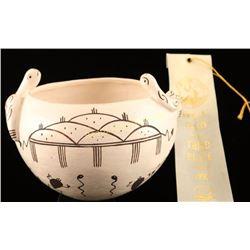 Acoma Snake Pot