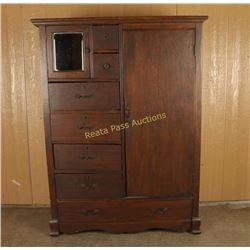 Vintage Upright Dresser