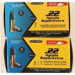 2 Boxes 22LR Ammo