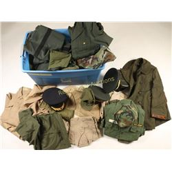 Large Lot of US Army Uniforms