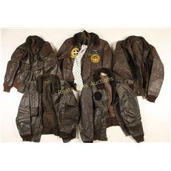 Lot of 5 Bomber Jackets