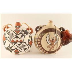 Native Pottery Jugs