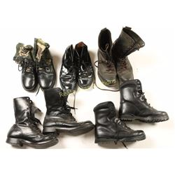 Large Lot of US Military Boots