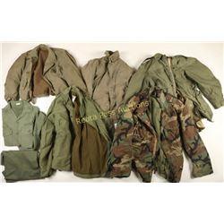 Large Lot of US Military Surplus Uniforms
