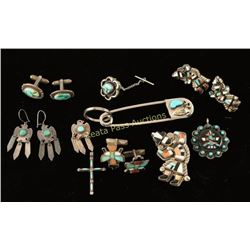 Native American Jewelry Lot