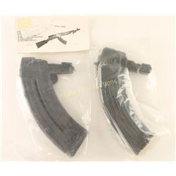 Two 30 Round SKS Magazines