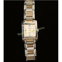 Ladies ESQ Two-Tone Stanless Steel Watch