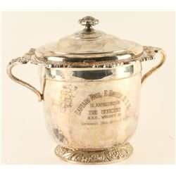 USN Silver Plated Ice Bucket